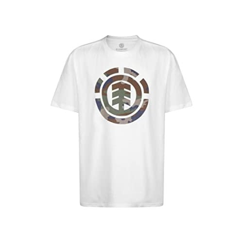 T-Shirt Element: Foundation Icon SS Optic WH