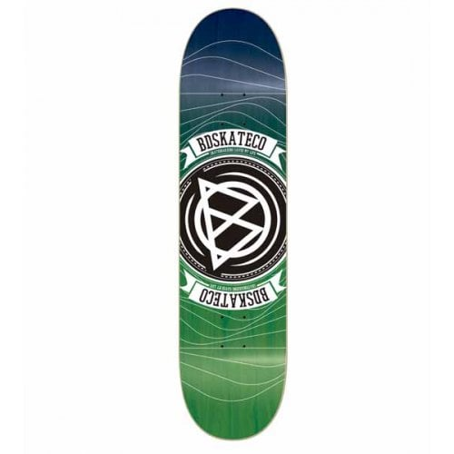 Planche BDSkateCO: Waves Green 8.25