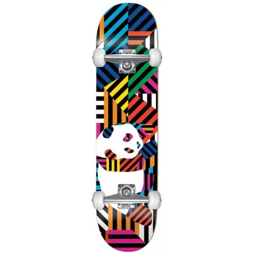 Skate Complet Enjoi: Panda Stripes Resin Multi 7.75x31.2