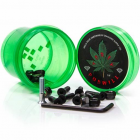 "Vis Diamond: Hella Tight Hardware Torey Pudwill 7/8"" Green"