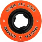 Roues Ricta: All Star Orange/Black Chrome (52 mm)