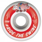 Roues Pig: Ride Red (51 mm)