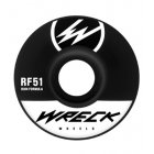 Wreck  Roues Wreck: Original Cut Black (51 mm)