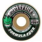 Roues Spitfire: F4 101 Conical Green Print (52 mm)