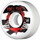 Roues Powell Peralta: Park Ripper White (58mm)