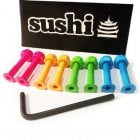 "Sushi Skateboards Vis Sushi: Coloured Bolts 1"" Allen"