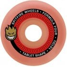Roues Spitfire: F4 101 Tablet Aurora-Red (54 mm)