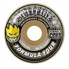 Roues Spitfire: F4 99 Conical Yellow Print (53 mm)