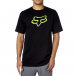 T-Shirt Fox Racing: Legacy Fox Head Tee BK/GN