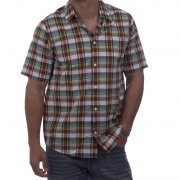 Chemise Carhartt: Baxter WH/GN, XL