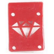 Pads Diamond: Rise & Shine Risers Red