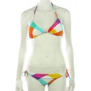 Maillot 2 Pièces Femme Roxy: Born to B Wild Cha Cha WH, XS