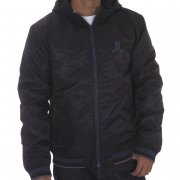 Blouson WESC: We Eskil Hood W/O Back Patch Jacket BK