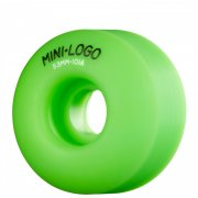 Roues Mini-Logo Skateboards: C-Cut Green (53 mm)