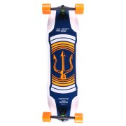 Longboard Complet Elixir: Neptune Orange Top Mount