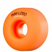 Roues Mini-Logo Skateboards: C-Cut Orange (53 mm / 101A)