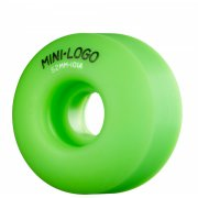 Roues Mini-Logo Skateboards: C-Cut Green (52 mm)