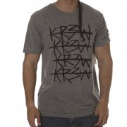 T-Shirt Krew: Cross Out Grey Heather GR