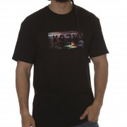 T-Shirt Krew: Locker Static Black BK