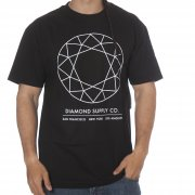 T-Shirt Diamond: Off Top Tee Black BK