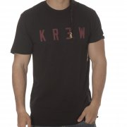 T-Shirt Krew: Locker BK/RD