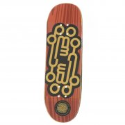 Planche Fingerboards Yellowood: Logo Orange