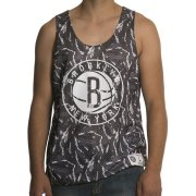 Mitchell & Ness Débardeur Mitchell & Ness: NBA Reversible Mesh Tank Brooklyn Nets GR/WH