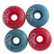 Roues Sweet: Twins Blue/Red (51 mm)