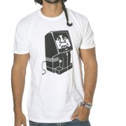 Obey T-Shirt: Unplugged WH