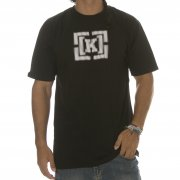 T-Shirt Krew: Bracket Static Black BK