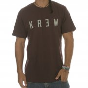 T-Shirt Krew: Locker Oxblood BR