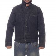 Veste Volcom: Macback Denim Jacket BK