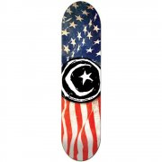 Planche Foundation Skateboards: Star & Moon 'Merica 8.5