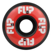 Roues Flip: Odyssey Logo Red/Black (54 mm)