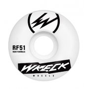 Wreck  Roues Wreck: Square Cut White (51 mm)