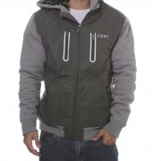Veste Fox Racing: Marauder Sasquatch Zip Fleece GN