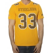 T-Shirt NFL Majestic: Abris Pittsburgh Steelers YL
