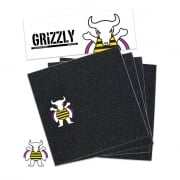 Grip Grizzly: Brandon Biebel Griptape Black