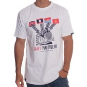 T-Shirt Grimey: Indochine Tee WH