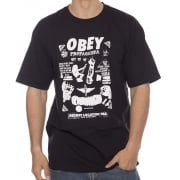T-Shirt Obey: Secret Location BK