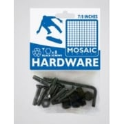 "Vis Mosaic: Mounting Bolts Black Pack 7/8"" Allen"