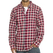 Chemise Vans: MN Alameda II Dress Blues RD/NV/BG