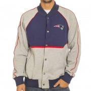 Veste Majestic: Letterman Jacket Patriots NV/GR