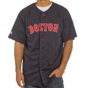 Chemise Majestic: MLB Replica Jersey Boston NV