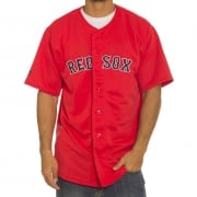 Chemise Majestic: MLB Replica Jersey Red Sox RD