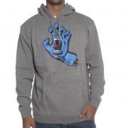 Sweatshirt Santa Cruz: Hood Screaming Hand Dark Heather GR