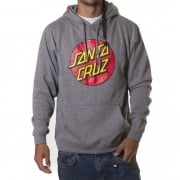 Sweatshirt Santa Cruz: Hood Classic Dot Dark Heather GR