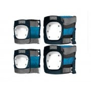 Pack de Protecteurs DNA: Navy Knee & Elbow Pack NV