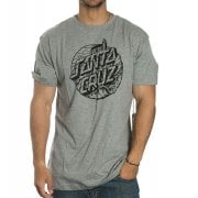 T-Shirt Santa Cruz: Steamer Dot Dark Heather GR