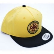 Casquette Independent: OGTC Snapback Banana Cream YL/BK